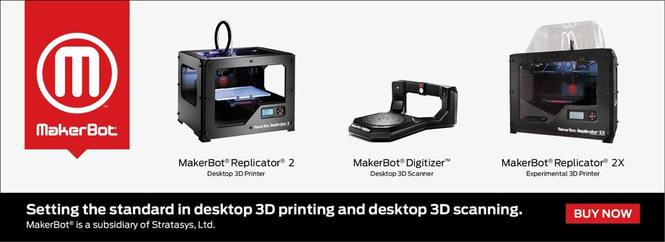 Buy Makerbot 3D Printer, 3D Scanner Canada