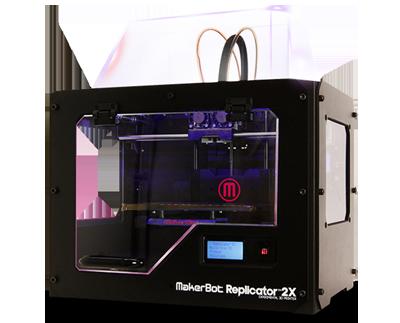 Makerbot Replicator 2x Dual Extrusion 3d Printer Canada Makerbot Desktop 3d Printers